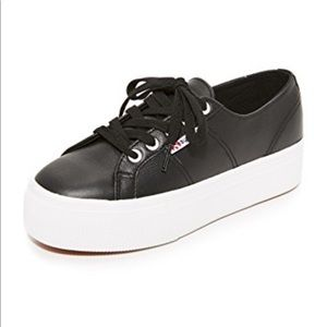 Superga 2790 Platform Leather Sneaker